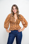 Blusa Leticia Parsel Orange