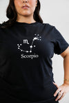 Remera Albertina Zodiac Eco Noir Escorpio