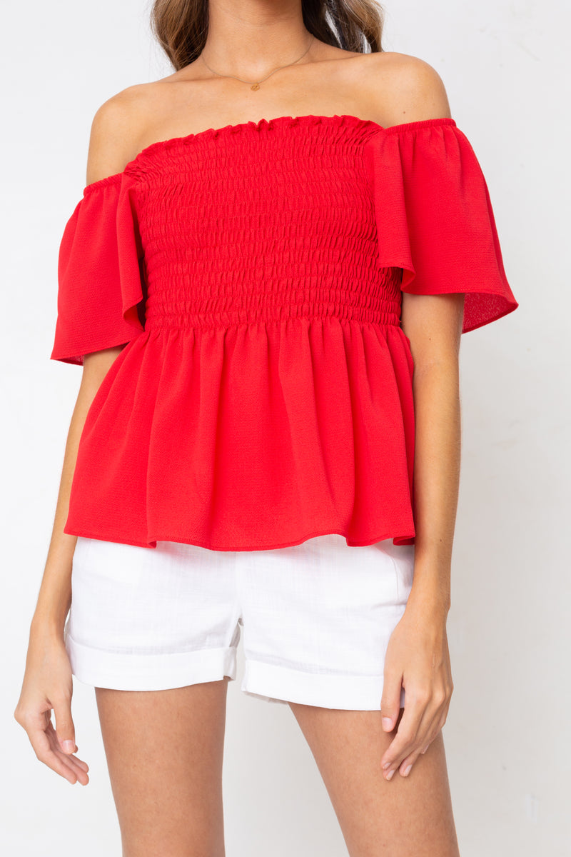 Blusa Katerina Rouge