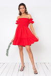 Vestido Gretta Mini Strawberry