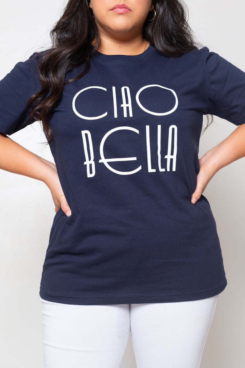 Remera Long Ciao Bella Navy