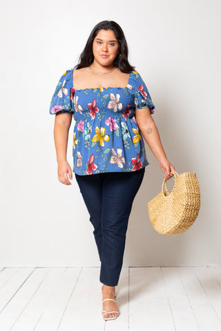 Remera Albertina Ciao Bella Nature Navy