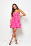 Vestido Ester Mini Pebble Pink