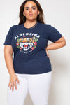 Remera Albertina Rock Love Nature Navy