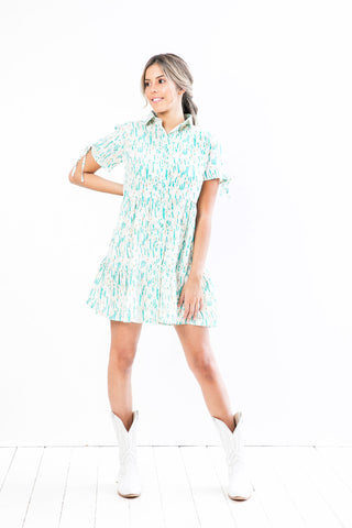 Vestido Donna Mini Green Marguerite