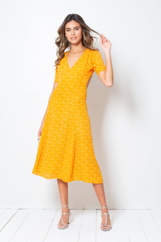 Vestido Nina Bouquet Yellow