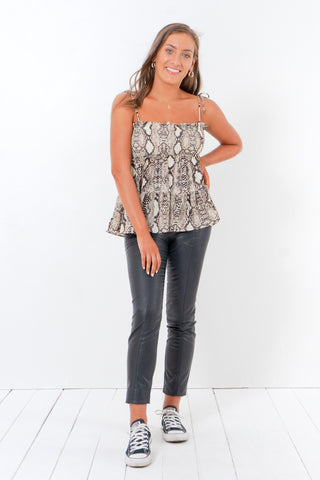 Blusa Isabel Boa Cream