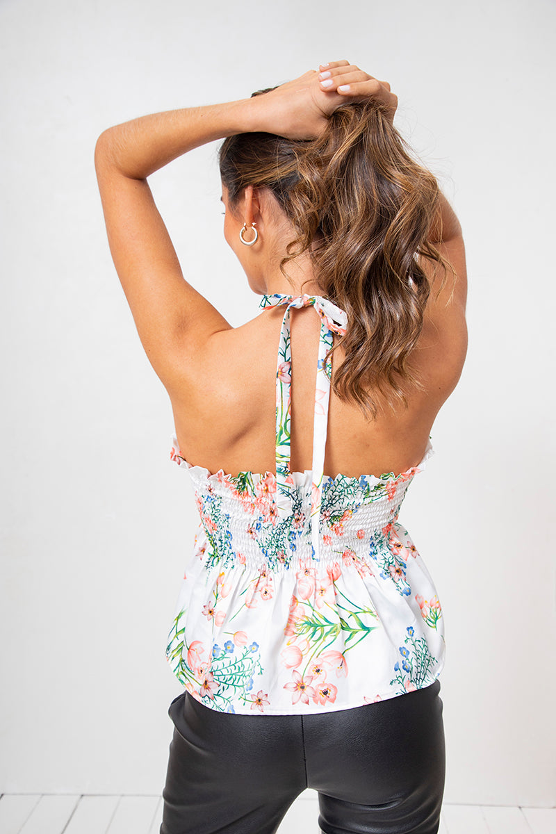 Blusa Carla Waterlillies