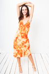 Vestido Naomi Trippi Orange