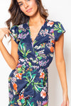 Vestido Amanda Midi Jungle Blue