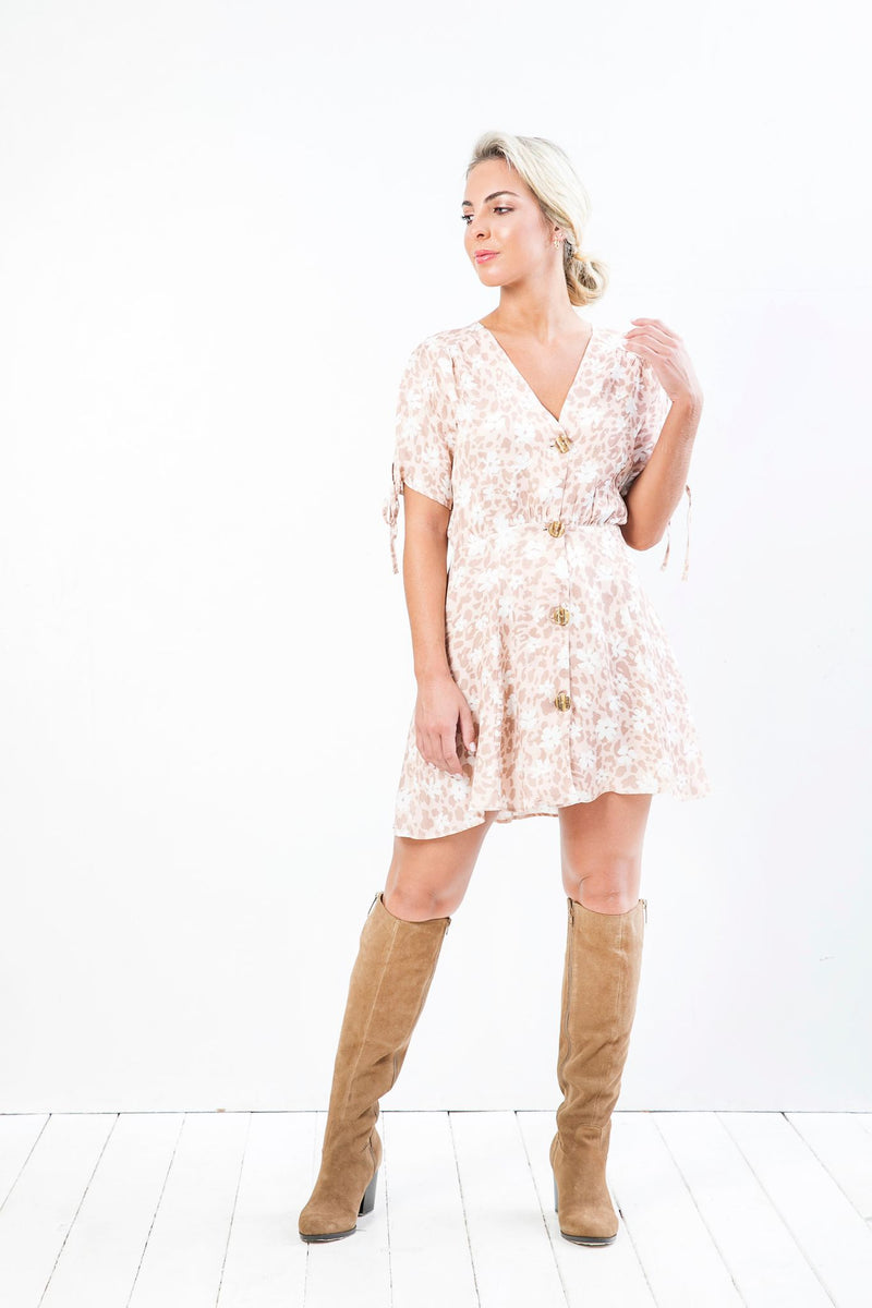 Vestido Conce Mini Savage Terra