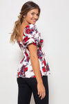 Blusa Brenda Long Secret Gardenia