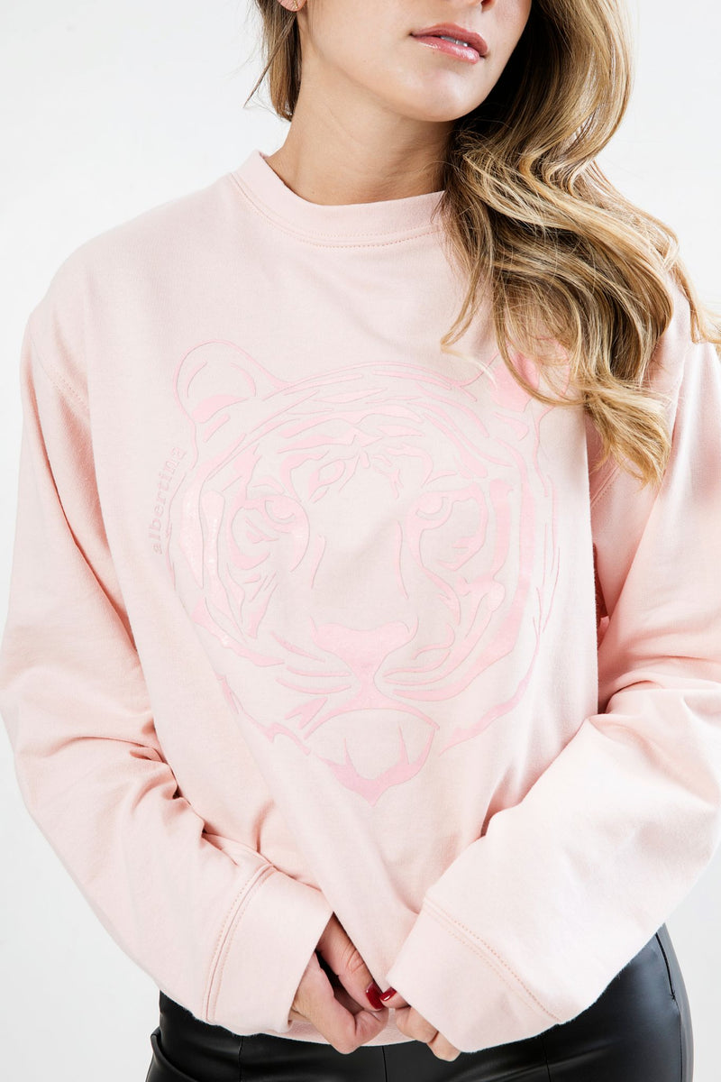 Sudadera Odette Tiger Light Pink