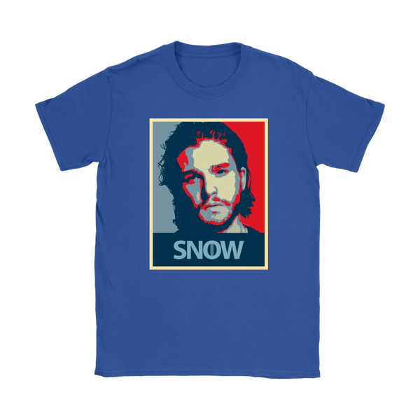 Jon Snow | Shepard Fairey | Different Colors | Women's T-Shirt