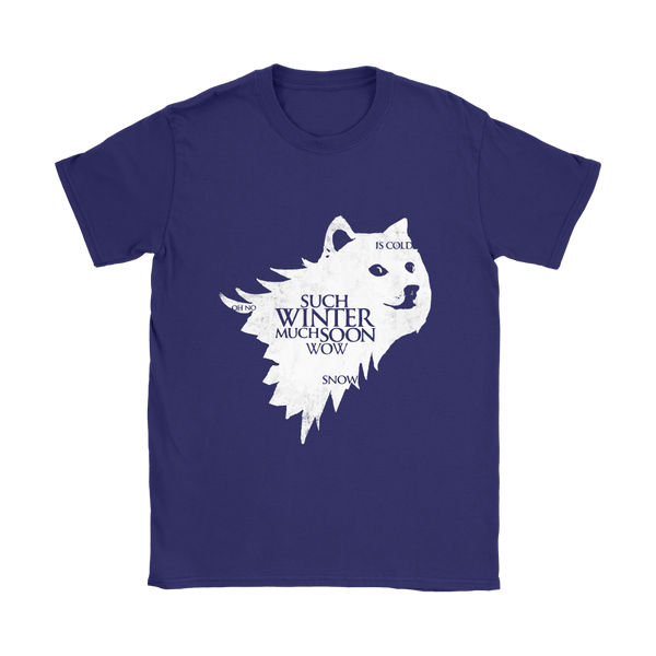 House Doge - Such Winter | Different Colors | Women's T-Shirt