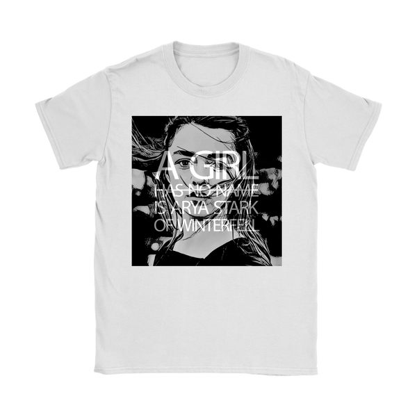 A Girl Is Arya Stark | White / Black | Women's Crop Top
