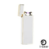 i-Gear Ultra Thin Electric Arc Lighter - White Gold