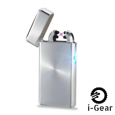 i-Gear Electric Arc Lighter - Silver