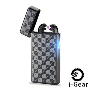 i-Gear Electric Arc Lighter - Blk Chess
