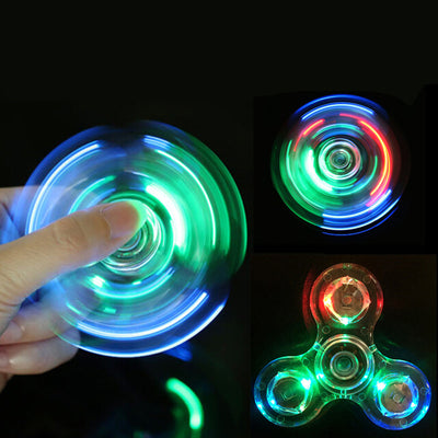 Fidget Spinner LED (Plastic) [15 Styles & Designs]