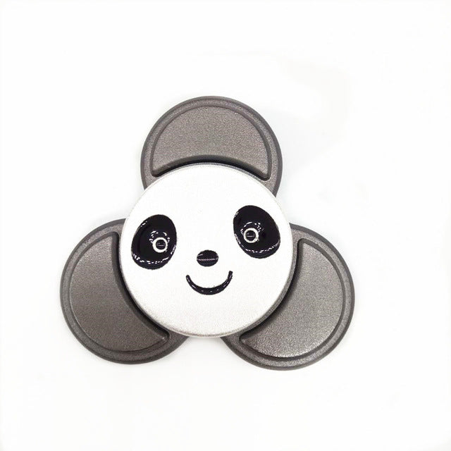 Panda Fidget Spinner (Metal) with Metal Box