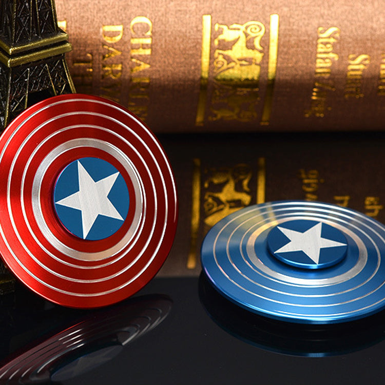 Super Hero Shield Fidget Spinner (Metal )