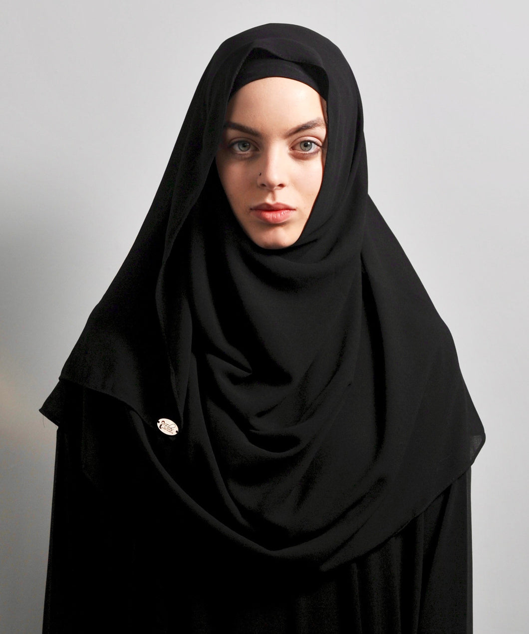 Black Night Hijab