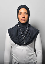 MoreSlim Black Sports Hijab