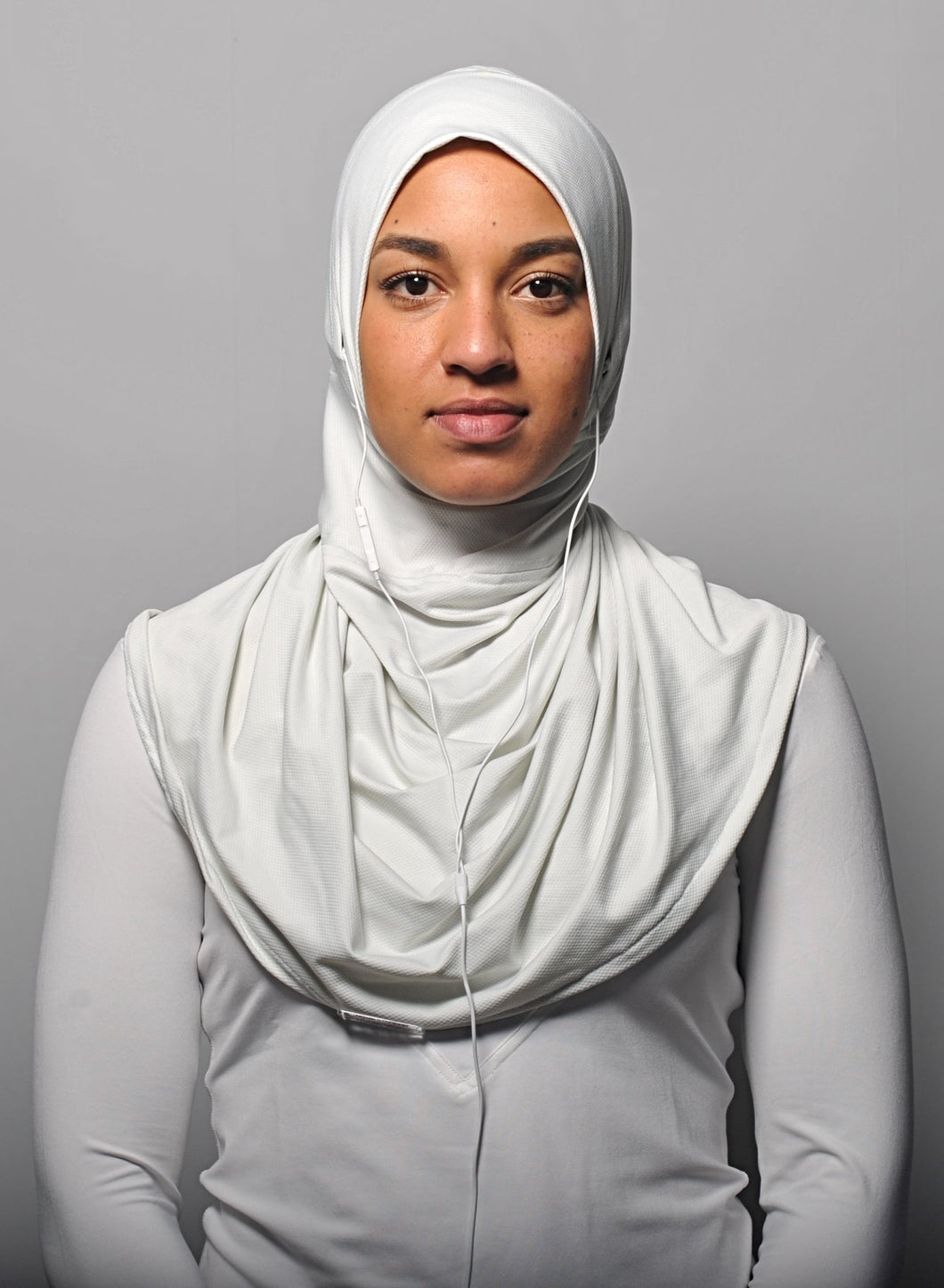 MoreSlim Off-white sports hijab