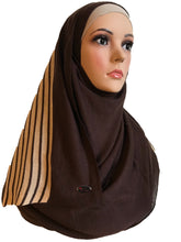 Knitted instant Brown Gold