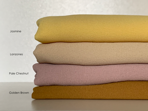 Limited Edition Plain Full-Instant Chiffon Yellows