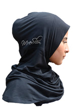 MoreSlim II black sports hijab (2nd edition)
