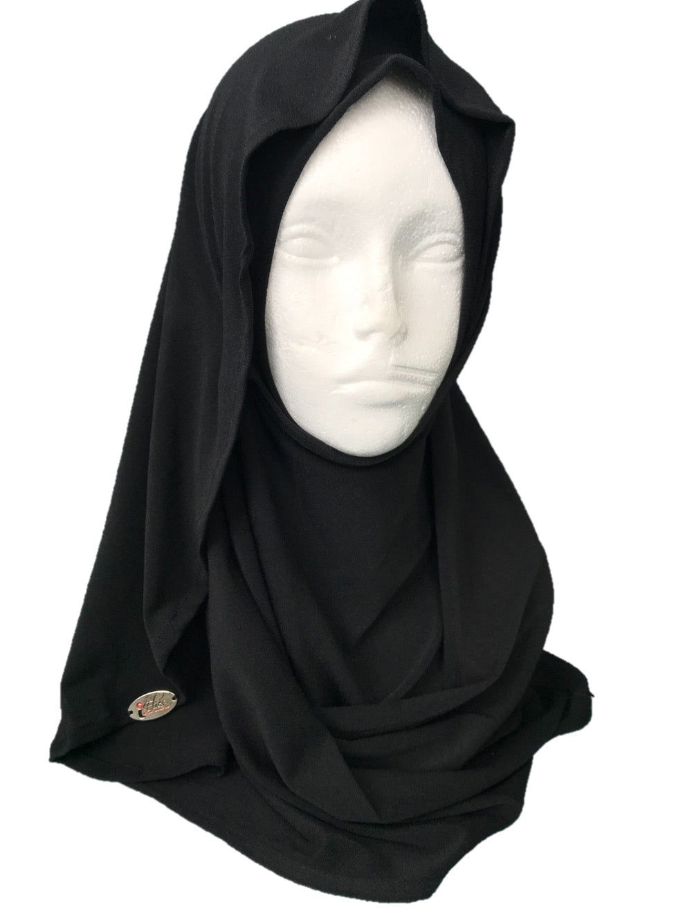 Child's hijab Black