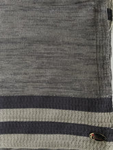 Knitted semi-instant soft grey pebble crochet