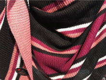 Knitted Instant pink black BLI004