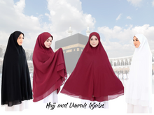 Hajj and Umrah Hijabs Earth