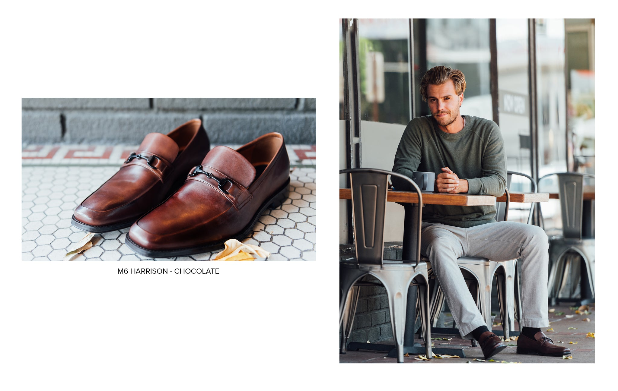 M6 Harrison Loafer in Chocolate by Blake McKay