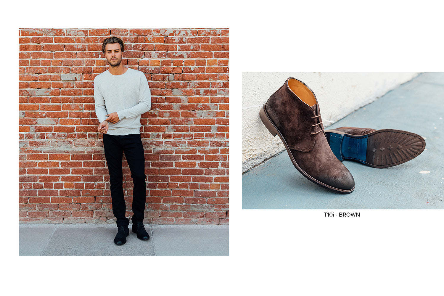 T10i Chukka Boot in Brown by Blake McKay