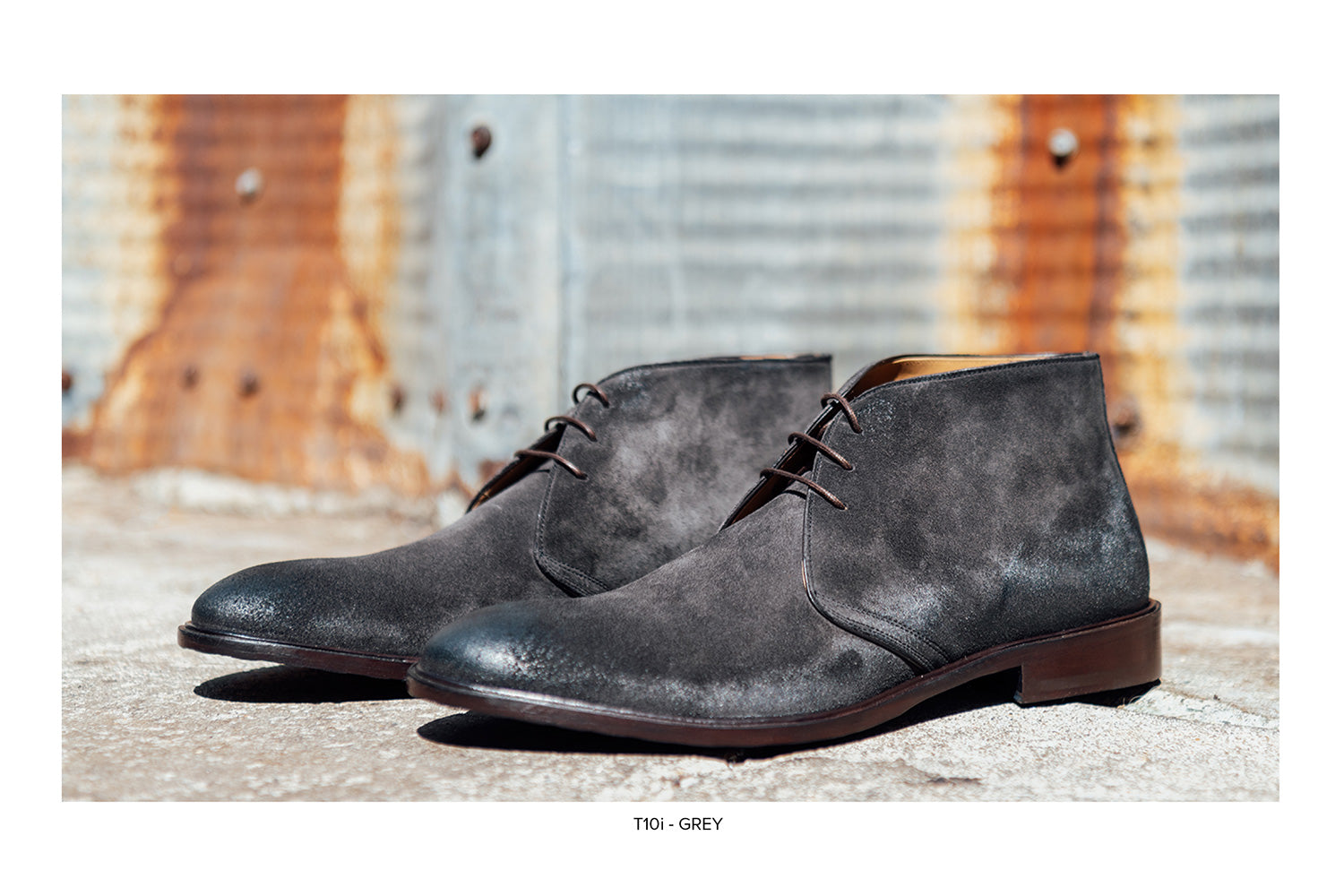 T10i Chukka Boot in Grey by Blake McKay