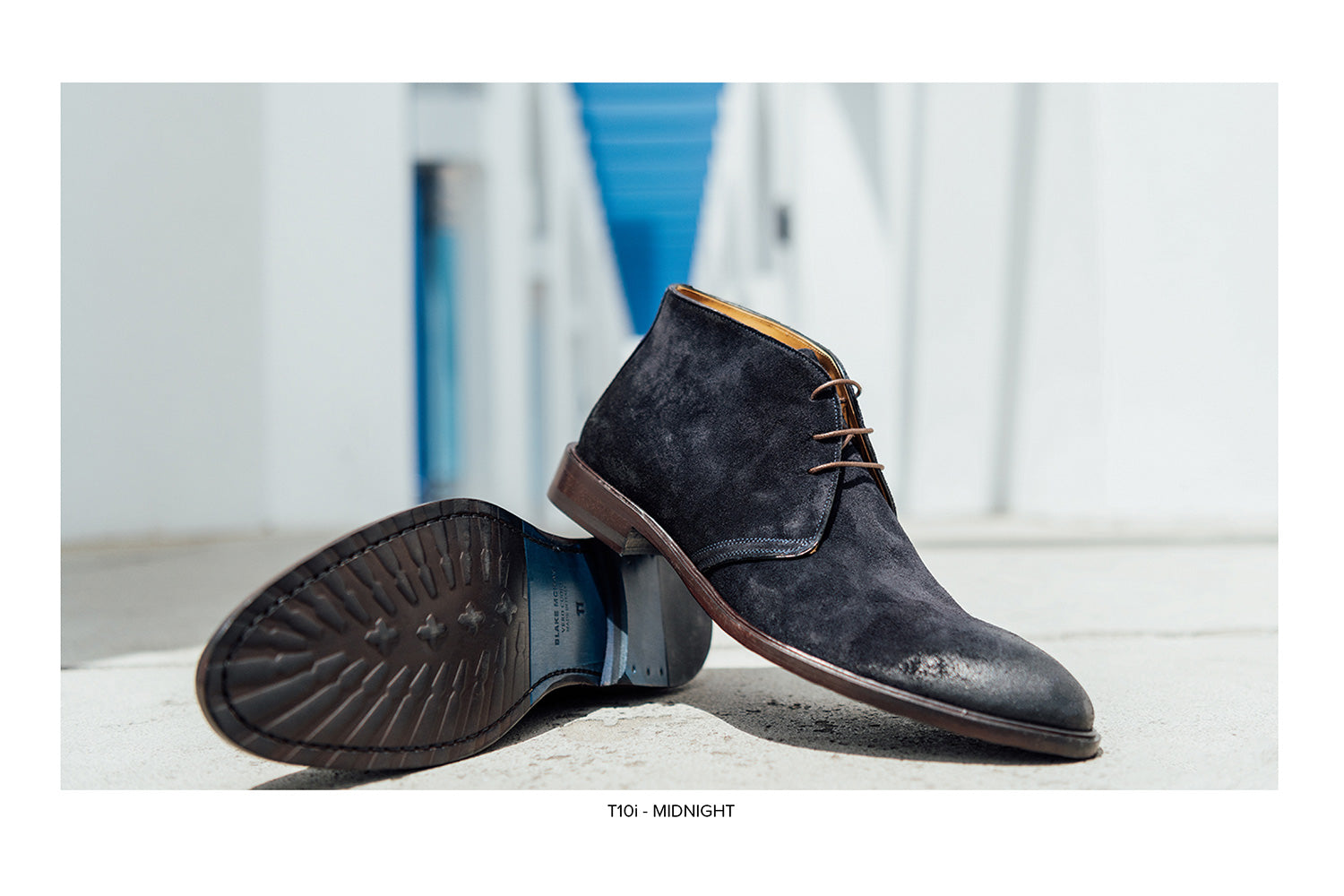 T10i Chukka Boot in Midnight by Blake McKay
