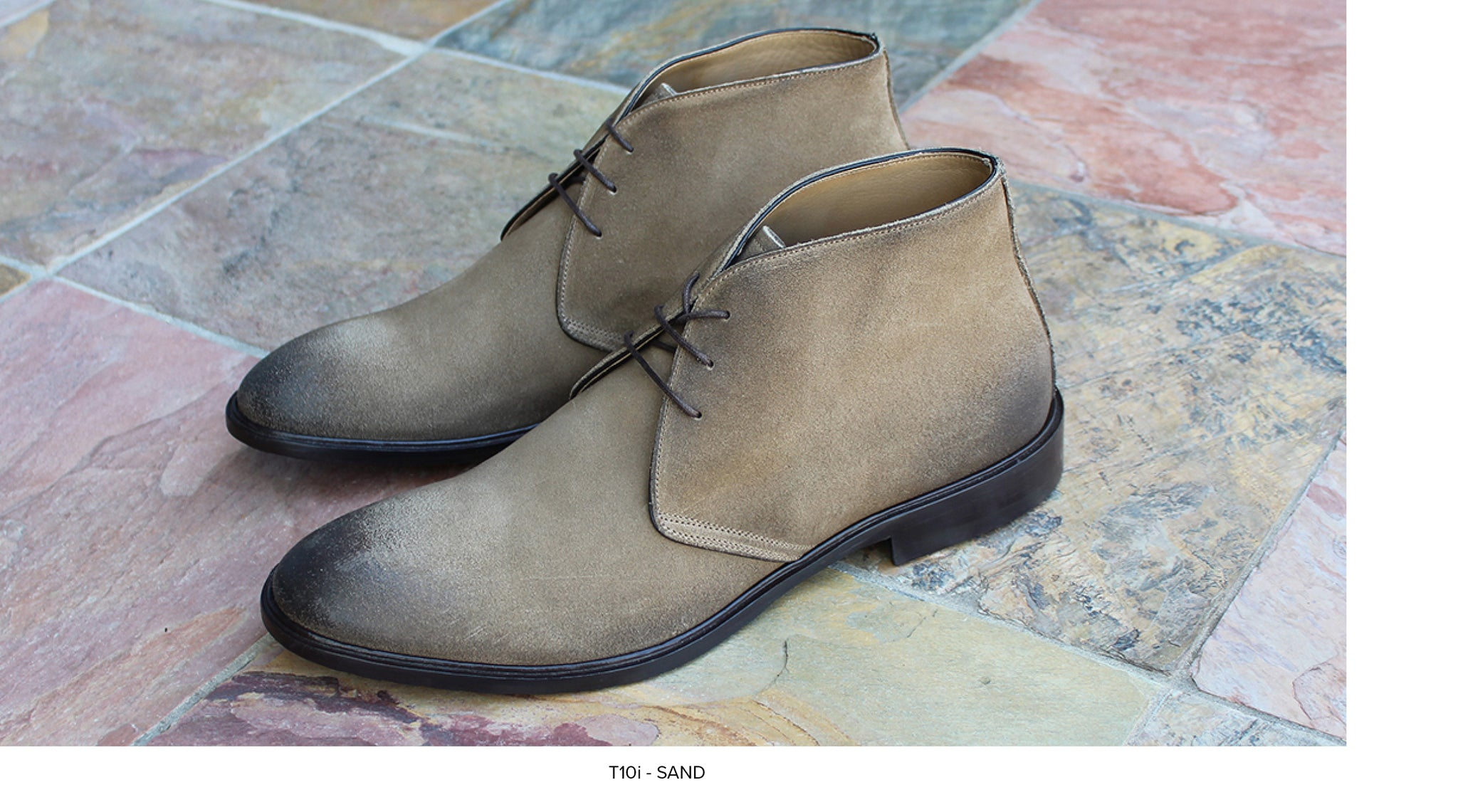 T10i Chukka Boot in Sand by Blake McKay