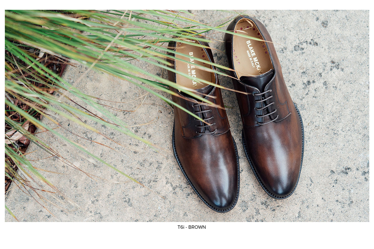 Alessandro Plain Toe Lace-up by Blake McKay