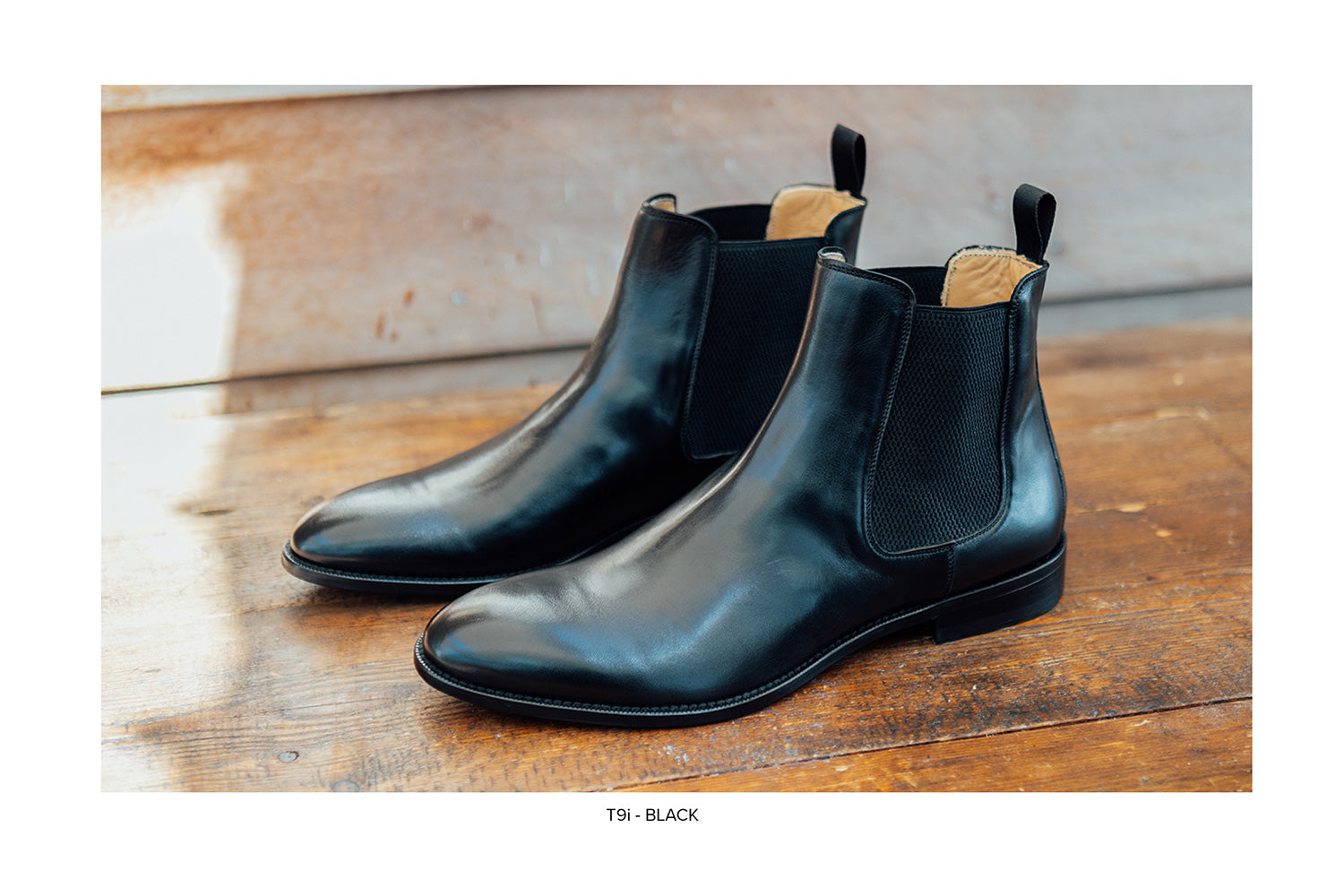 T9i Chelsea Boot in Black by Blake McKay