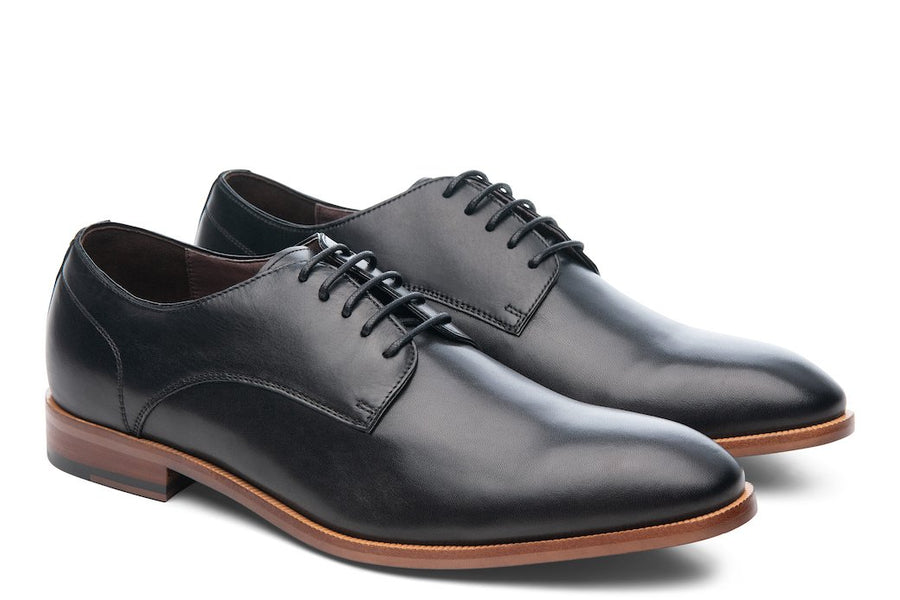 T4 Plain-Toe Derby