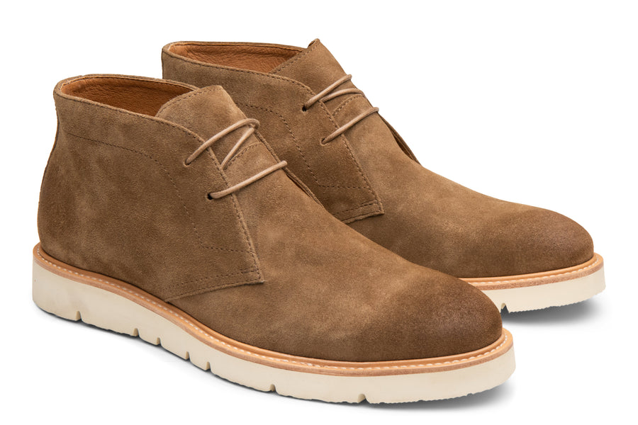 Blake McKay Cody Hybrid Chukka in Whiskey Side View Pair