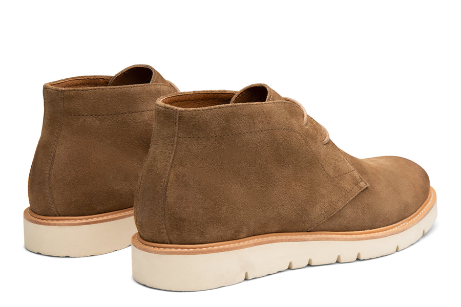 Blake McKay Cody Hybrid Chukka in Whiskey Rear View Pair