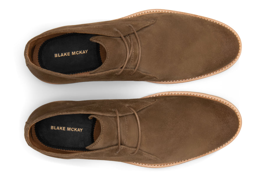 Blake McKay Cody Hybrid Chukka in Whiskey Top View