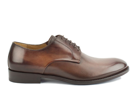 T6i Alessandro Leather Plain Toe Derby