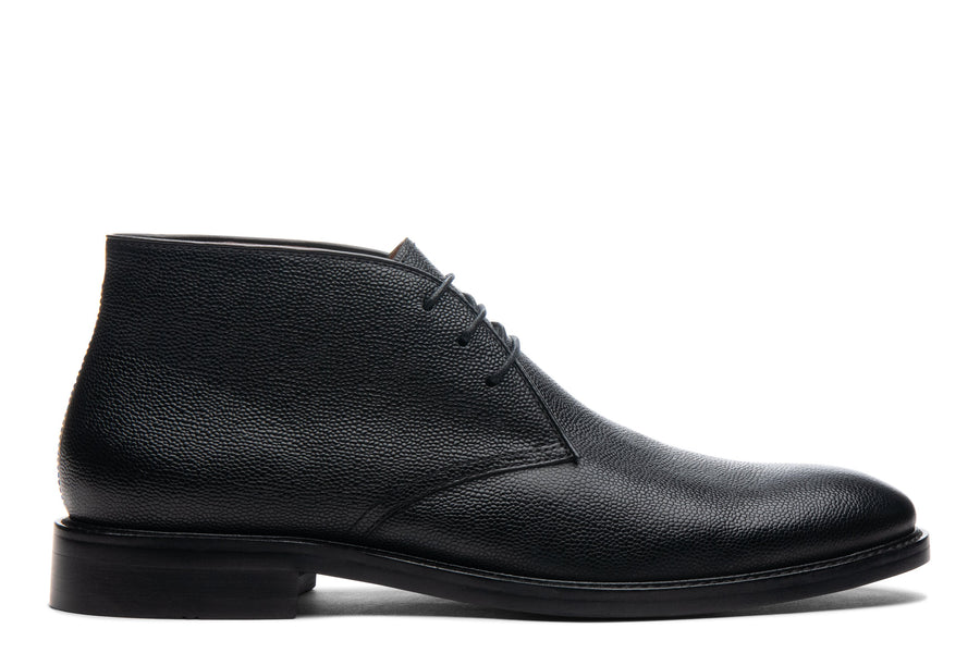 Blake McKay Joel Chukka Boot in Black Side View