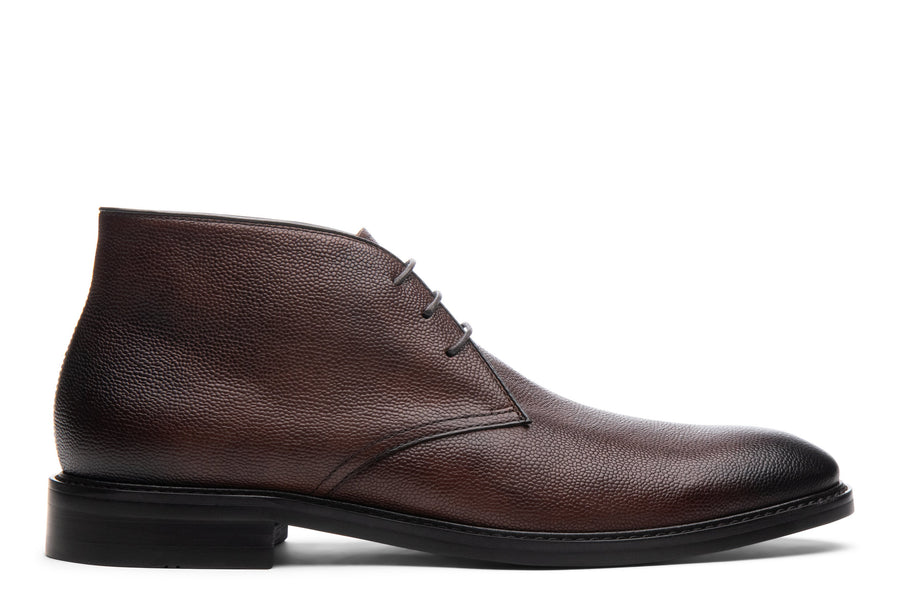 Blake McKay Joel Chukka Boot in Chestnut Side View